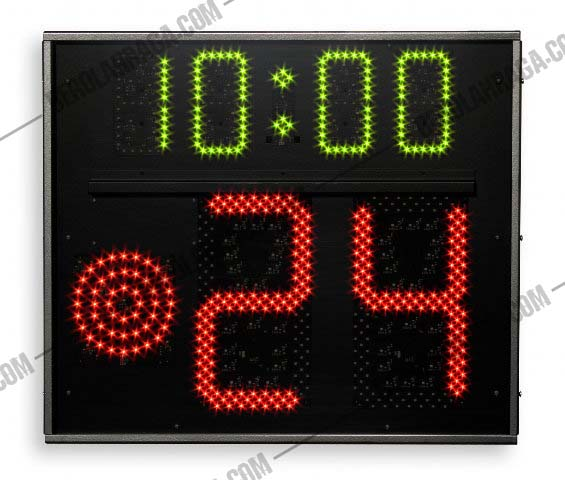 Shoot Clock 24 Second Basket  Whirles